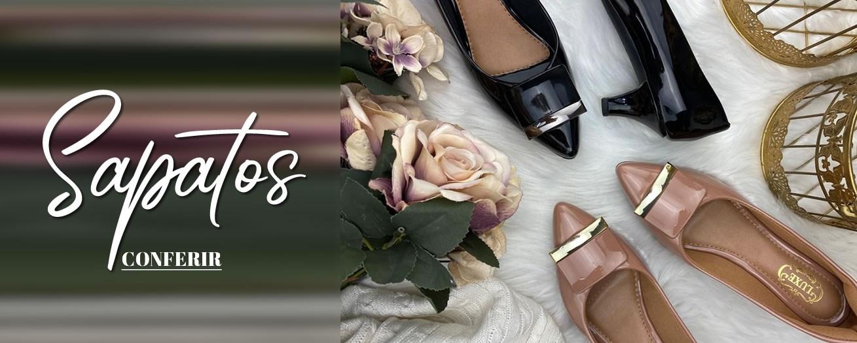Clique para conferir as novidades em sapatos!