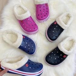 Babuche Infantil Lã Comfort Leve Marinho