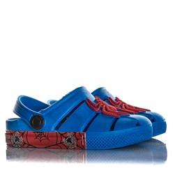 Babuche Infantil Menino Sandalia Aranha Azul