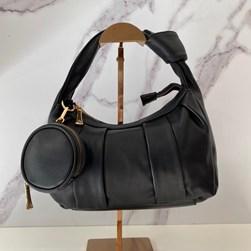 Bolsa Feminina com Mini Bag e Nó na Alça Preto