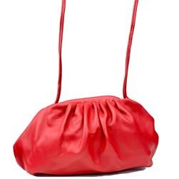 Bolsa Feminina Pequena em Napa com Alça Fina Vermelho