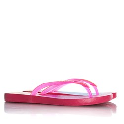 Chinelo Lais Flat Feminino Moda Verão Rosa