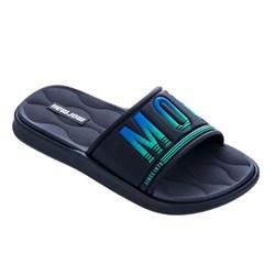Chinelo Mormaii Slide Quiver Pro Azul
