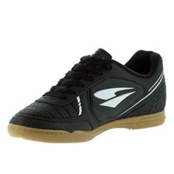 Chuteira Dray Futsal Adulto Preto/Branco
