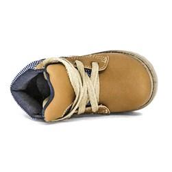 Coturno infantil masculino bota menino Botinha Ortobaby Caramelo