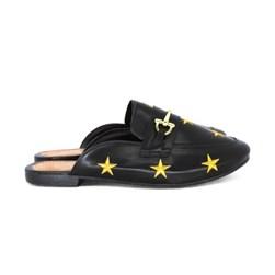 Mule Estrela Luxe Preto
