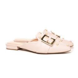 Mule Perolas Luxe Off White
