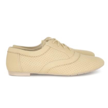 Oxford feminino Sapato Super Confortável  Kaqui