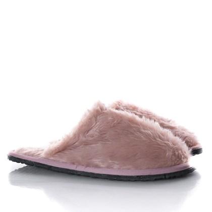 Pantufa Comfy de Pelinho Super Macia Unissex Rose