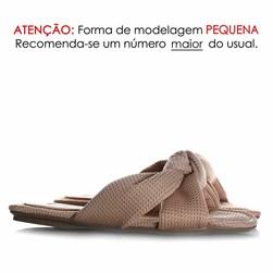 Pantufa Homewear Solange Comfy com Nó Nude