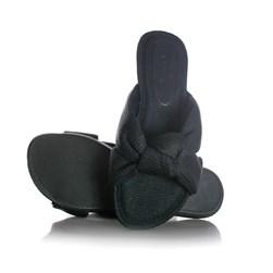 Pantufa Homewear Solange Comfy com Nó Preto