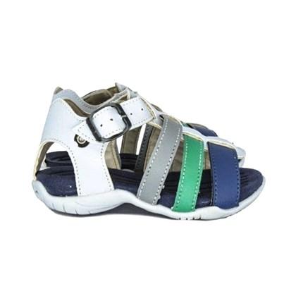 Papete Sandália Infantil Masculino Menino Promoção Jeans Claro
