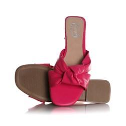 Rasteirinha Slide Julia Candy Color com Nó  Pink