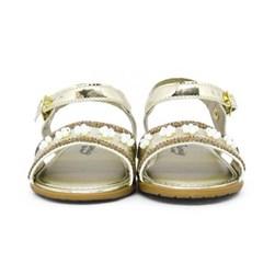 Sandalia Infantil F.Baby Ouro