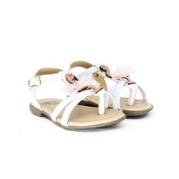 Sandalia Infantil Feminina Moda menina Flamingo Promoção Branco