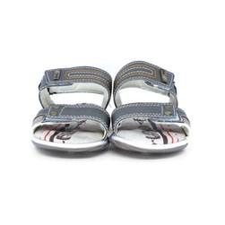 Sandália Infantil Masculina Papete Menino Confort Com Velcro Rato