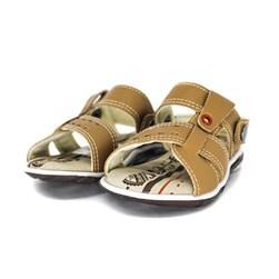 Sandália Infantil Masculina Papete Menino Confort Promoção Camel/Chocolate