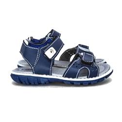 Sandália Infantil Masculina Papete Moda Menino Azul