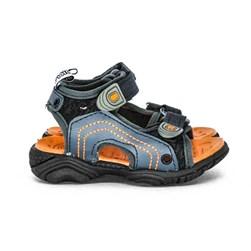 Sandália Infantil  Papete Menino Kids Confort Com Velcro  Preto