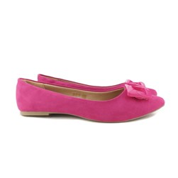 Sapatilha Feminina Confort Com Bico Fino Fivela Lançamento Pink