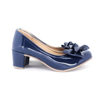 Sapato Rosa Matte Azul