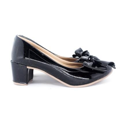 Sapato Rosa Matte Preto