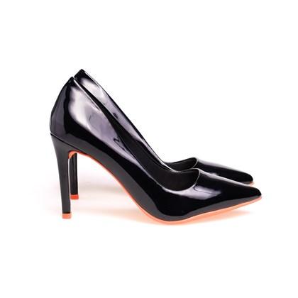 Scarpin Salto Alto Sapato Feminino Lançamento Varias Cores  Preto