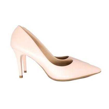 Scarpin Sapato Feminino Salto Alto Fino Lançamento Creme