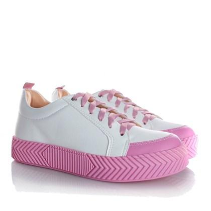 Tenis Casual Feminino Daiane Candy Color Rosa