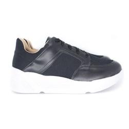 Tenis Dad Sneakers OffLine Preto Napa