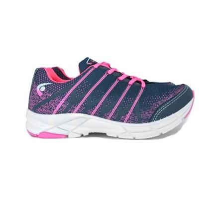 Tênis Esportivo Feminino Lincy Lycra Graffite Pink