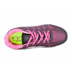 Tênis Esportivo Feminino Tratorado Snill Preto/Pink