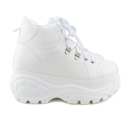 Tênis Feminino Buf Cano Alto Chunky Sneaker Branco