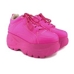 Tênis Feminino Buf Chunky Sneaker Neon Pink