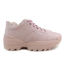 Tênis Feminino Chunky Sneaker Sola Alta Lançamento Rosa