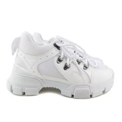Tênis Feminino Dad Sneaker Tratorado Branco