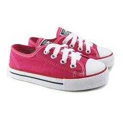 Tênis Infantil Casual Old Star Lona Pink
