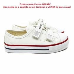 Tênis Infantil Casual OldStar Velcro Napa Preto Napa