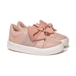 Tenis Infantil Com Elástico calce Fácil Moda Menina lançamento Rose