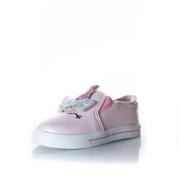 Tênis Infantil Feminino Iate Unicórnio Calce Fácil Moda Menina Rosa