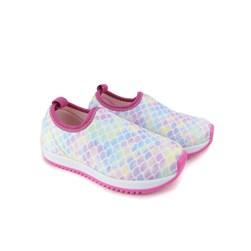 Tênis Infantil Menina Calce Fácil Estampado Pink