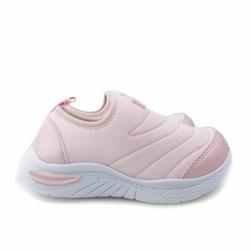 Tênis Infantil Menina Lycra Esporte Rosa