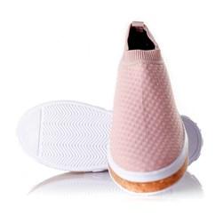 Tenis Meia Feminino Calce Facil Sola Shoes  Rosa