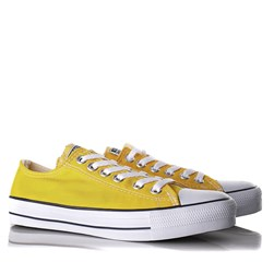 Tênis Old Star Casual Lona Amarelo