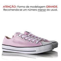 Tênis Old Star Casual Lona Rosa