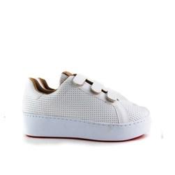 Tenis Velcro OffLine Branco